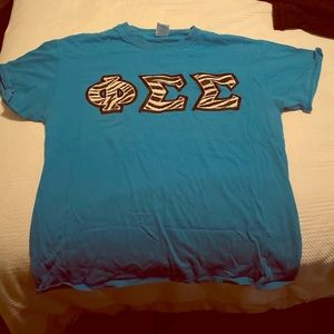 Phi Sigma Sigma: Letter T-Shirt